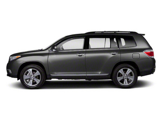 Magnetic Gray Metallic 2013 Toyota Highlander Pictures Highlander Utility 4D 2WD I4 photos side view