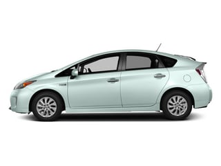 Sea Glass Pearl 2013 Toyota Prius Plug-In Pictures Prius Plug-In Liftback 5D Plug-In Advanced Hybrid photos side view