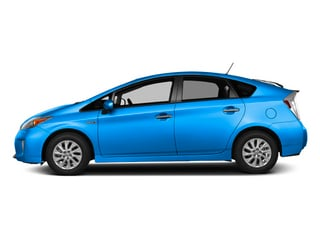 Clear Water Blue Metallic 2013 Toyota Prius Plug-In Pictures Prius Plug-In Liftback 5D Plug-In Advanced Hybrid photos side view