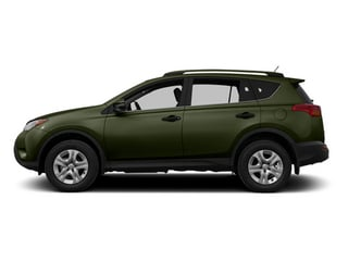Spruce Mica 2013 Toyota RAV4 Pictures RAV4 Utility 4D LE AWD I4 photos side view