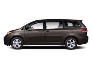 Predawn Gray Mica 2013 Toyota Sienna Pictures Sienna Wagon 5D LE AWD V6 photos side view
