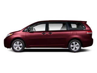 Salsa Red Pearl 2013 Toyota Sienna Pictures Sienna Wagon 5D LE AWD V6 photos side view