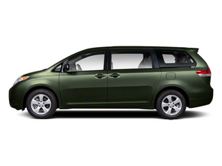 Cypress Pearl 2013 Toyota Sienna Pictures Sienna Wagon 5D LE AWD V6 photos side view