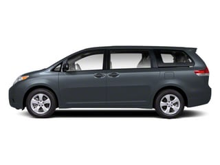 Shoreline Blue Pearl 2013 Toyota Sienna Pictures Sienna Wagon 5D LE AWD V6 photos side view