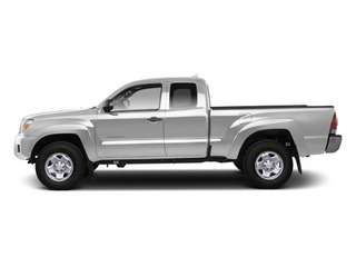 Silver Streak Metallic 2013 Toyota Tacoma Pictures Tacoma Base Access Cab 4WD V6 photos side view