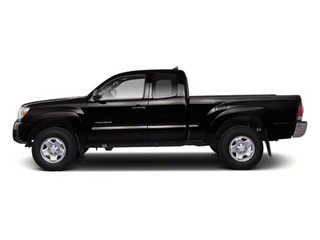 Black 2013 Toyota Tacoma Pictures Tacoma Base Access Cab 4WD V6 photos side view