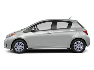 Classic Silver Metallic 2013 Toyota Yaris Pictures Yaris Hatchback 5D LE I4 photos side view