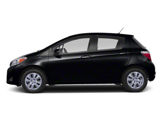 Black Sand Pearl 2013 Toyota Yaris Pictures Yaris Hatchback 5D LE I4 photos side view
