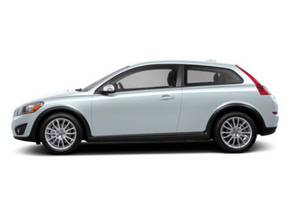 Ice White 2013 Volvo C30 Pictures C30 Hatchback 3D I5 Turbo photos side view