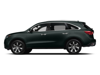 Forest Mist Metallic 2014 Acura MDX Pictures MDX Utility 4D Advance DVD AWD V6 photos side view