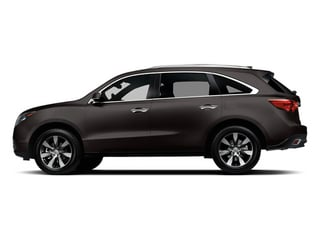 Graphite Luster Metallic 2014 Acura MDX Pictures MDX Utility 4D Advance DVD AWD V6 photos side view