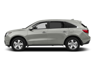 Silver Moon 2014 Acura MDX Pictures MDX Utility 4D AWD V6 photos side view