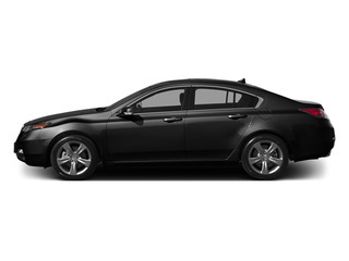 Crystal Black Pearl 2014 Acura TL Pictures TL Sedan 4D V6 photos side view