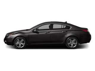 Graphite Luster Metallic 2014 Acura TL Pictures TL Sedan 4D V6 photos side view