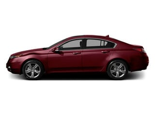 Basque Red Pearl II 2014 Acura TL Pictures TL Sedan 4D V6 photos side view