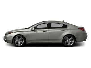 Silver Moon 2014 Acura TL Pictures TL Sedan 4D AWD V6 photos side view