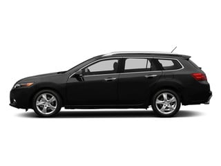 Crystal Black Pearl 2014 Acura TSX Sport Wagon Pictures TSX Sport Wagon 4D I4 photos side view