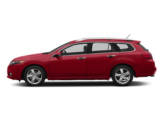 Milano Red 2014 Acura TSX Sport Wagon Pictures TSX Sport Wagon 4D I4 photos side view