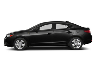 Crystal Black Pearl 2014 Acura ILX Pictures ILX Sedan 4D Hybrid Technology I4 photos side view