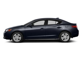 Fathom Blue Pearl 2014 Acura ILX Pictures ILX Sedan 4D Hybrid Technology I4 photos side view