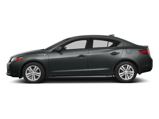 Polished Metal Metallic 2014 Acura ILX Pictures ILX Sedan 4D Hybrid Technology I4 photos side view