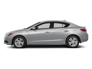 Silver Moon 2014 Acura ILX Pictures ILX Sedan 4D Hybrid Technology I4 photos side view