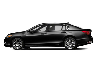 Crystal Black Pearl 2014 Acura RLX Pictures RLX Sedan 4D Advance V6 photos side view