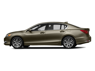 Gilded Pewter Metallic 2014 Acura RLX Pictures RLX Sedan 4D Advance V6 photos side view