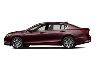 Pomegranate Pearl 2014 Acura RLX Pictures RLX Sedan 4D Advance V6 photos side view