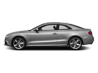 Ice Silver Metallic 2014 Audi A5 Pictures A5 Coupe 2D Premium Plus AWD photos side view