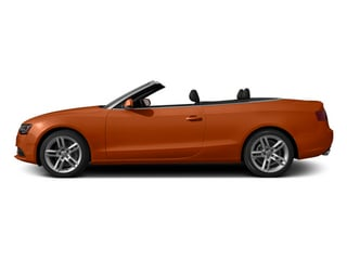 Volcano Red Metallic/Black Roof 2014 Audi A5 Pictures A5 Convertible 2D Premium 2WD photos side view