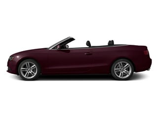 Shiraz Red Metallic/Black Roof 2014 Audi A5 Pictures A5 Convertible 2D Premium 2WD photos side view