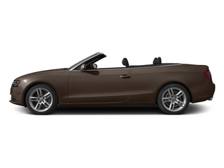 Teak Brown Metallic/Black Roof 2014 Audi A5 Pictures A5 Convertible 2D Premium AWD photos side view