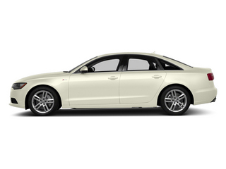 Glacier White Metallic 2014 Audi A6 Pictures A6 Sedan 4D 2.0T Premium Plus 2WD photos side view