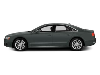 Monsoon Gray Metallic 2014 Audi A8 Pictures A8 Sedan 4D 4.0T AWD V8 Turbo photos side view