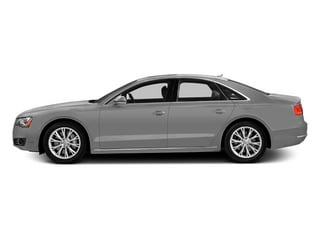 Ice Silver Metallic 2014 Audi A8 Pictures A8 Sedan 4D 4.0T AWD V8 Turbo photos side view