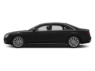 Phantom Black Pearl Effect 2014 Audi A8 L Pictures A8 L Sedan 4D 3.0T L AWD V6 Turbo photos side view