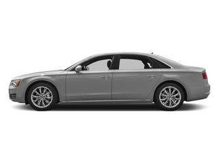 Ice Silver Metallic 2014 Audi A8 L Pictures A8 L Sedan 4D 3.0T L AWD V6 Turbo photos side view