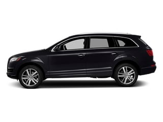 Orca Black Metallic 2014 Audi Q7 Pictures Q7 Utility 4D 3.0 Prestige S-Line AWD photos side view