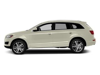 Glacier White Metallic 2014 Audi Q7 Pictures Q7 Utility 4D 3.0 Prestige S-Line AWD photos side view