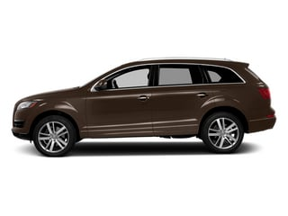 Teak Brown Metallic 2014 Audi Q7 Pictures Q7 Utility 4D 3.0 Prestige S-Line AWD photos side view