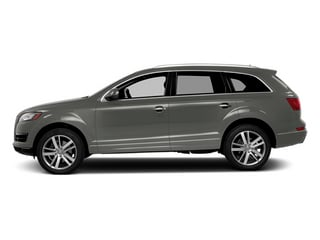 Graphite Gray Metallic 2014 Audi Q7 Pictures Q7 Utility 4D 3.0 Prestige S-Line AWD photos side view