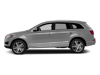 Ice Silver Metallic 2014 Audi Q7 Pictures Q7 Utility 4D 3.0 Prestige S-Line AWD photos side view