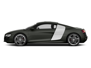 Daytona Gray Pearl Effect 2014 Audi R8 Pictures R8 2 Door Coupe Quattro V8 (Manual) photos side view