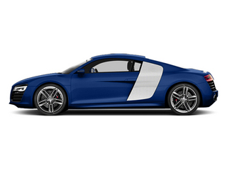 Sepang Blue Pearl Effect 2014 Audi R8 Pictures R8 2 Door Coupe Quattro V10 (Auto) photos side view