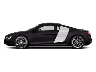 Panther Black Crystal Effect 2014 Audi R8 Pictures R8 2 Door Coupe Quattro V8 (Manual) photos side view