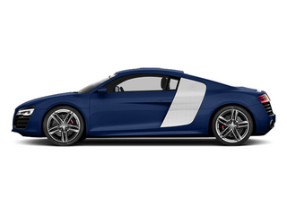 Estoril Blue Crystal Effect 2014 Audi R8 Pictures R8 2 Door Coupe Quattro V8 (Manual) photos side view