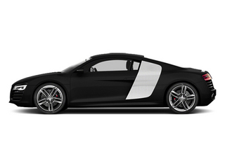 Phantom Black Pearl Effect 2014 Audi R8 Pictures R8 2 Door Coupe Quattro V8 (Manual) photos side view