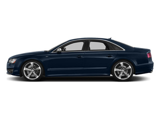 Night Blue Pearl Effect 2014 Audi S8 Pictures S8 Sedan 4D S8 AWD V8 Turbo photos side view
