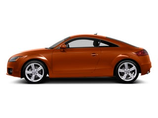 Volcano Red Metallic 2014 Audi TT Pictures TT Coupe 2D AWD photos side view